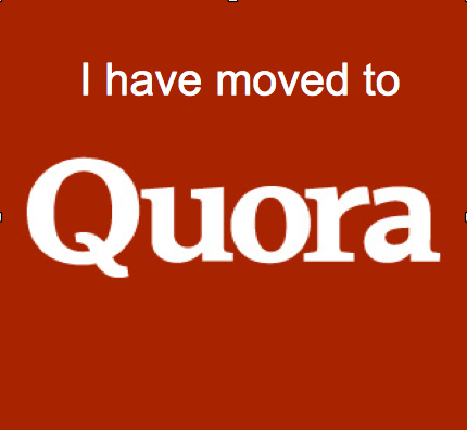 Moved to Quora